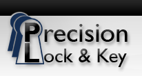Precision Lock and Key Logo